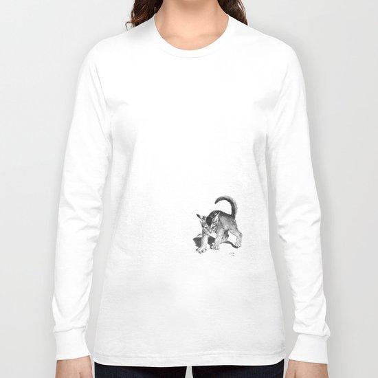 Furious kitten SKnb88 Long Sleeve T-shirt