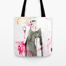 Here at the End Tote Bag