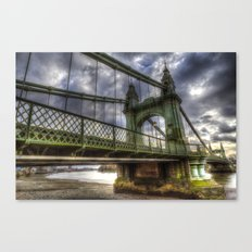 Hammersmith Bridge London Canvas Print