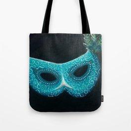 Peacock Masquerade Tote Bag