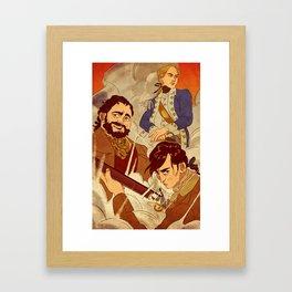 Sons of Setauket Framed Art Print