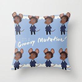 It's a Groovy Mutation! Throw Pillow