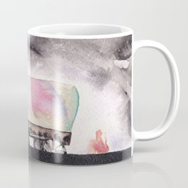 Rising stars above Coffee Mug