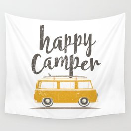 Happy Camper Wall Tapestry