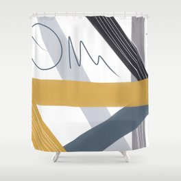 LINES 1.2 Shower Curtain