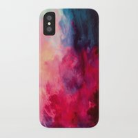 dream catcher iPhone & iPod Cases featuring Reassurance by Caleb Troy