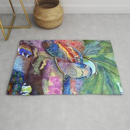 Journey Under the Sea by Maureen Donovan Rug