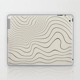 Line Distortion #3 Laptop & iPad Skin