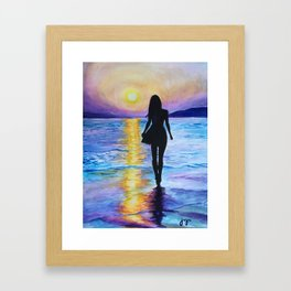 Bewitching Hour Framed Art Print