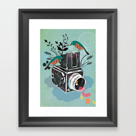 Vintage Camera Hasselblad Framed Art Print