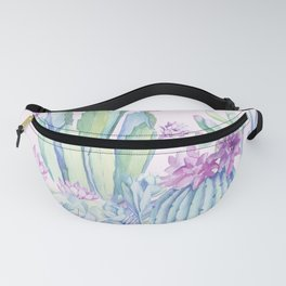 Mixed Cacti Pink #society6 #buyart Fanny Pack