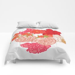 Floral Epiphany Comforters