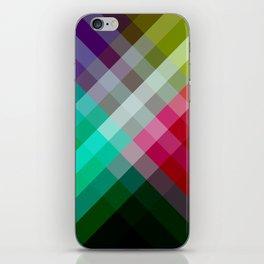 Rainbow 3 color iPhone Skin