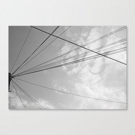 Power Pole 2 Canvas Print