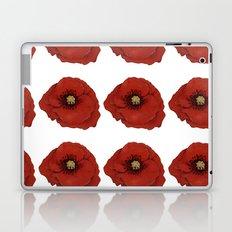 I Adore Poppies Laptop & iPad Skin