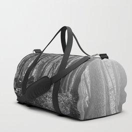 Adventure Nature Path Black and White Duffle Bag