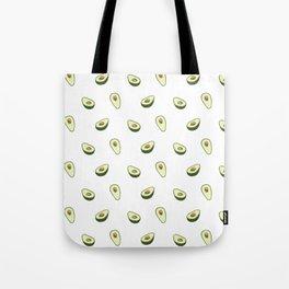 Cute Avocado Pattern Tote Bag
