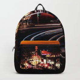 The Red Lights City (Color) Backpack