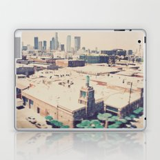 Urth Caffe. Los Angeles skyline photograph Laptop & iPad Skin