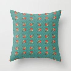 Puki Owl Pattern Throw Pillow