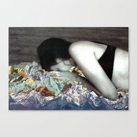 blankets Canvas Prints featuring Blankets by Ben Giles