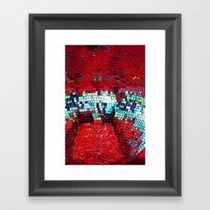 Glitter Ball Framed Art Print