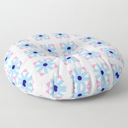 rosace and star 2 Floor Pillow