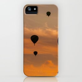 contrasted sky iPhone Case