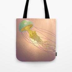 jellyfish-red Tote Bag