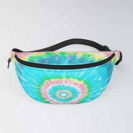 Colorful Tie Dye Shibori Fanny Pack