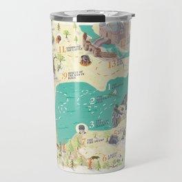 Princess Bride Discovery Map Travel Mug