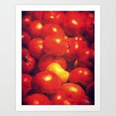 pomodori Art Print