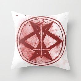 Living Heavy Sigil Throw Pillow