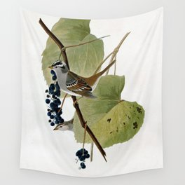 White-crowned Sparrow Wall Tapestry
