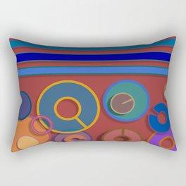 Abstract #54 Rectangular Pillow