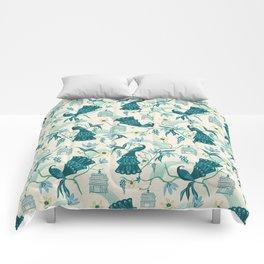 Aviary - Cream Comforters