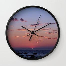 Last spec of Sun Wall Clock