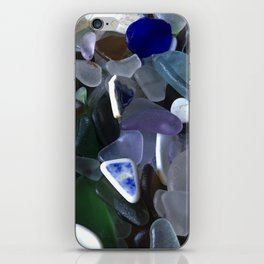 Sea Glass Assortment 4 iPhone Skin