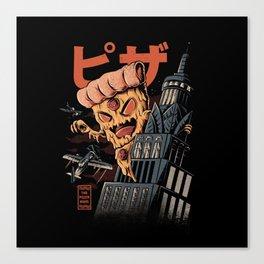 Pizza kong Canvas Print