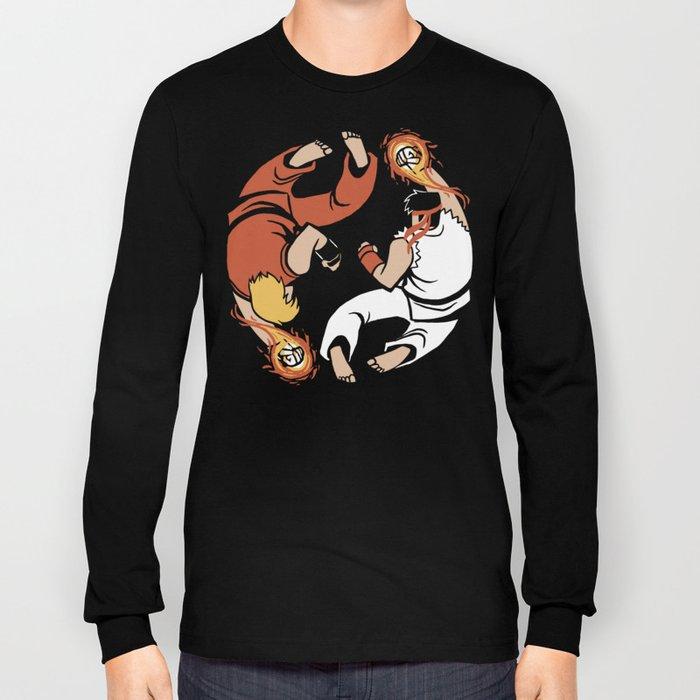 Super Yin Yang Long Sleeve T-shirt