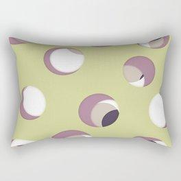Cut the holes! Green sheet Rectangular Pillow