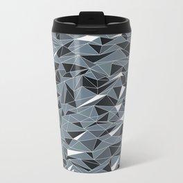 Geometric Summer Mountains Travel Mug