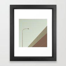 street light Framed Art Print