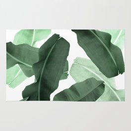 Green Banana Leaf Rug