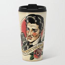 Long Live The King / Elvis Travel Mug