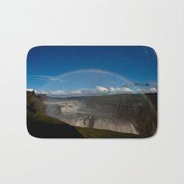 Iceland Rainbow Bath Mat