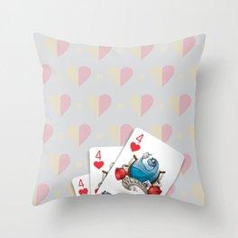 Cards for my arts / WCsaur Throw Pillow