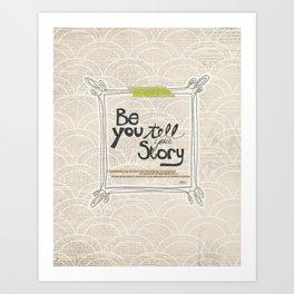 Ya Yeah | Be You Art Print