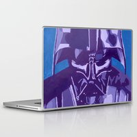 vader Laptop & iPad Skins featuring Vader by Eddie Frietas
