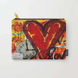 Time for Love Carry-All Pouch